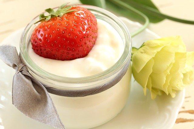 Domowy jogurt naturalny inietypowy makaron. FIT 15 dzień 3